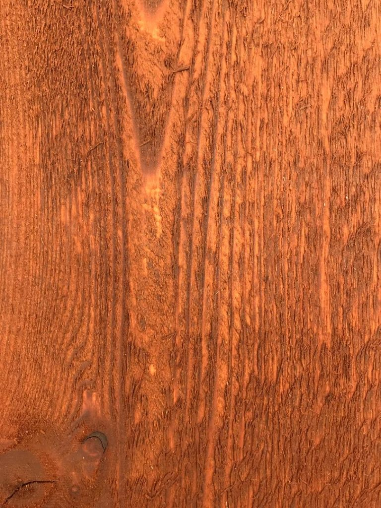 Wood Fence Colors