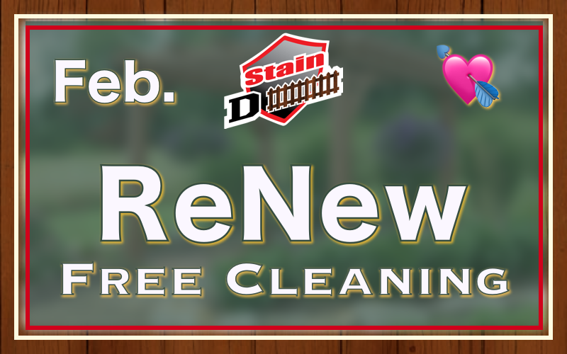 Fence Stain February Discount