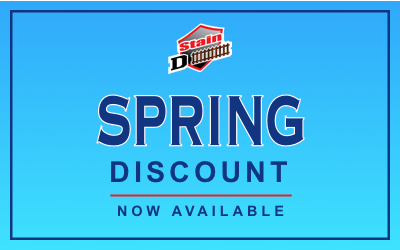 Fence Stain Discount for Spring