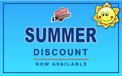 Summer Discount on Wood Stain Projects