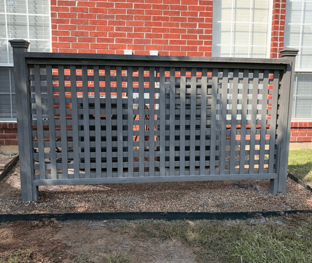 AC Fence Renovation