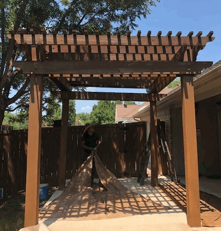 Arbors and Pergolas construction
