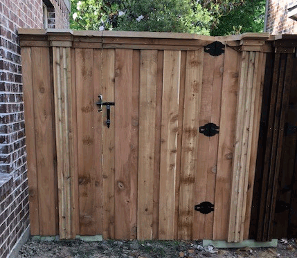 New Fence Gate in Plano