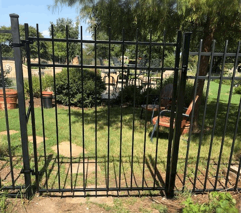 Wrought Iron Gate - Plano