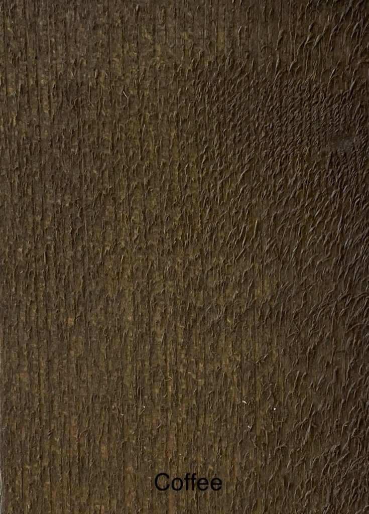 Coffee Fence Stain Sample