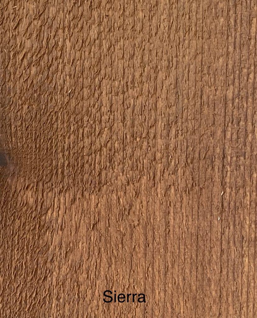 Sierra Fence Stain Sample